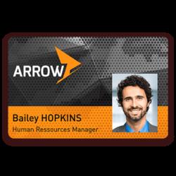 Arrow-employeebadge