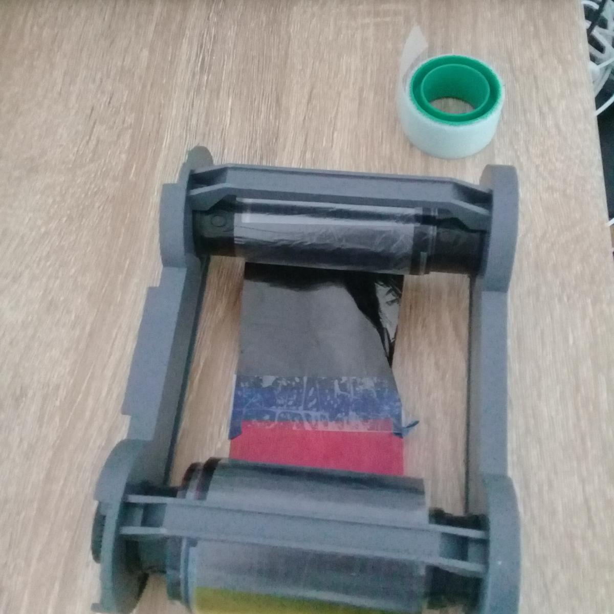 Repairing a broken/ripped Badgy ribbon