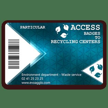 recyclingcenter-accesscard