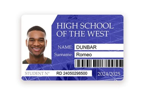 Student cards Badgy